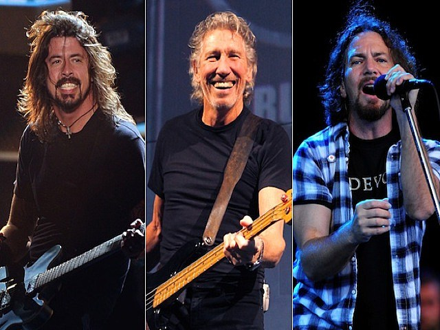 Dave Grohl_Roger Waters_Eddie Vedder