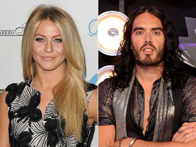 Julianne Hough, Russell Brand