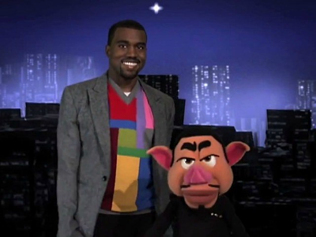 Kanye West and Puppet