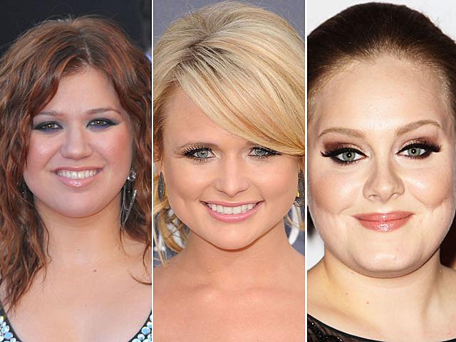 Kelly Clarkson, Miranda Lambert, Adele