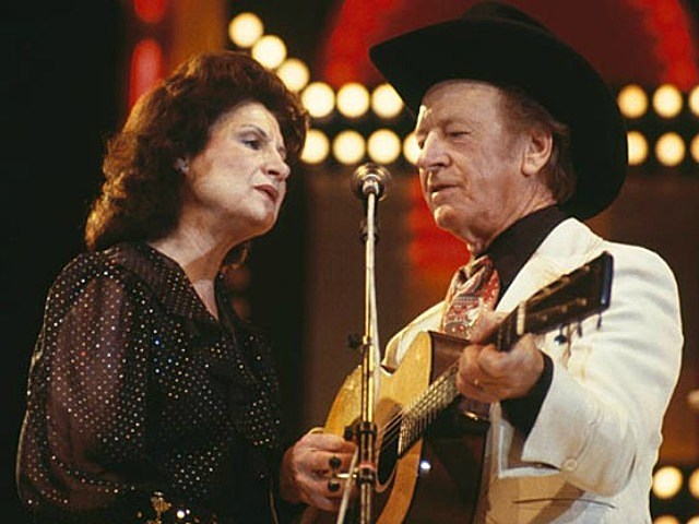 Kitty Wells and Johnnie Wright
