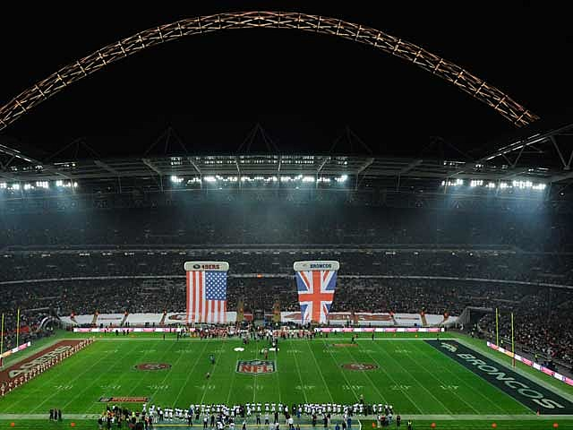 NFL game at Wembley Stadium