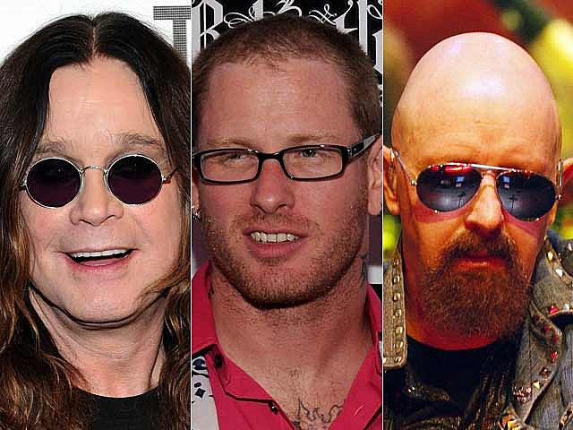 Ozzy Osbourne, Corey Taylor, Rob Halford