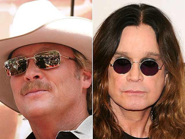 Alan Jackson, Ozzy Osbourne