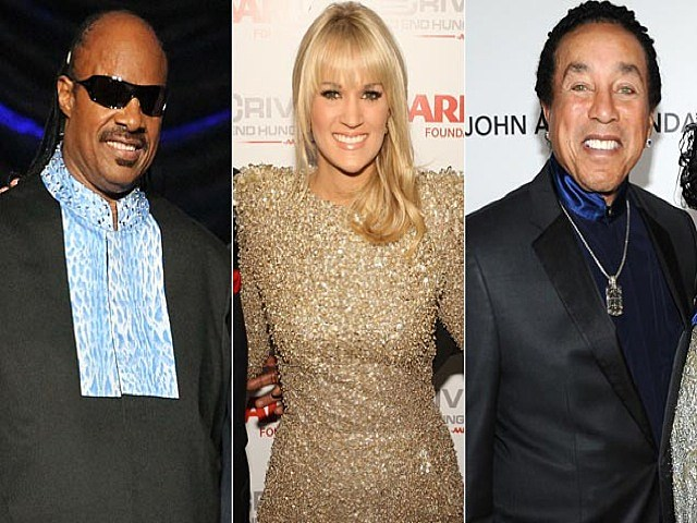 Stevie Wonder_Carrie Underwood_Smokey Robinson
