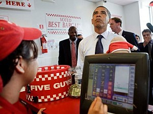 Five Guys rated best fast food
