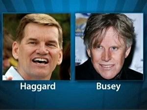 Ted Haggard Gary Busey