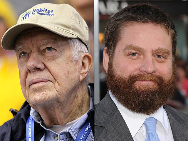 Jimmy Carter, Zach Galifianakis