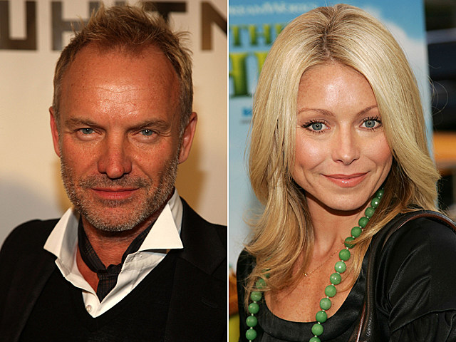 Sting, Kelly Ripa