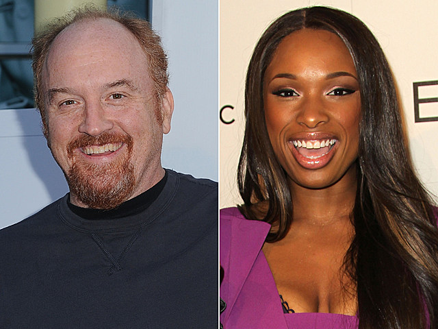 Louis C.K., Jennifer Hudson