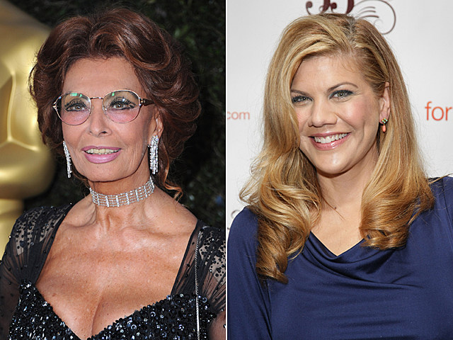 Sophia Loren, Kristen Johnston