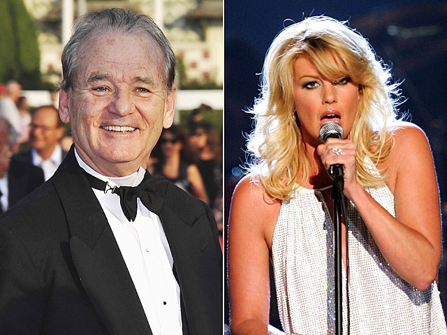 Bill Murray, Faith Hill