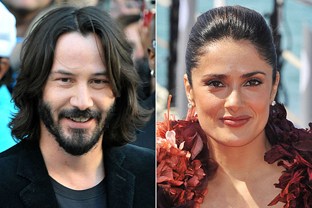 Keanu Reeves, Salma Hayek