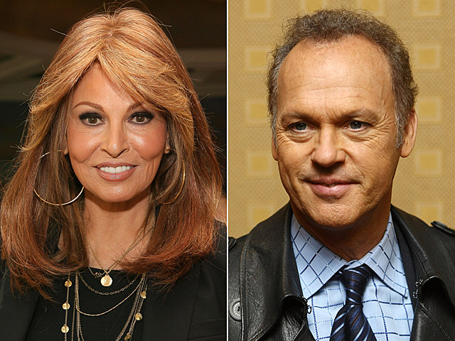 Raquel Welch, Michael Keaton