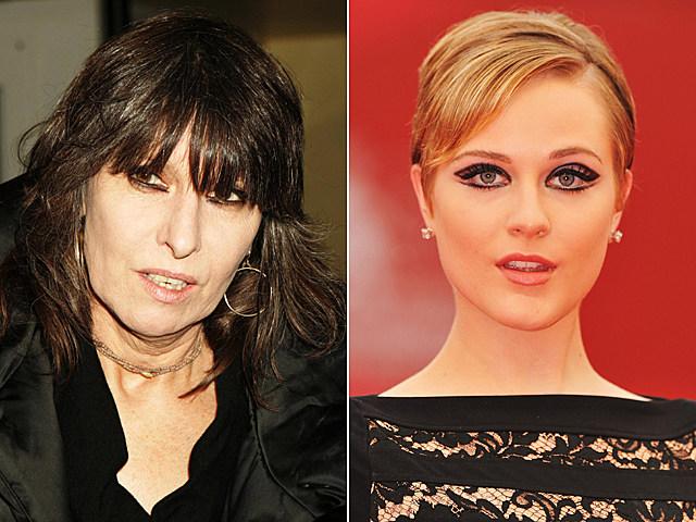 Chrissie Hynde, Evan Rachel Wood