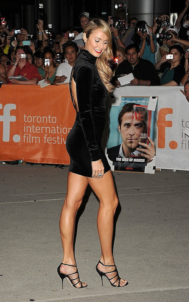 "Stacy Keibler ""Ides Of March"" Premiere -    2011 Toronto International Film Festival"