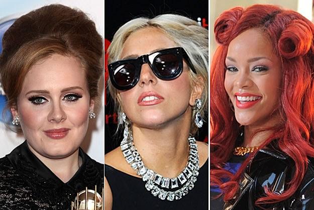 Adele/Lady Gaga/Rihanna