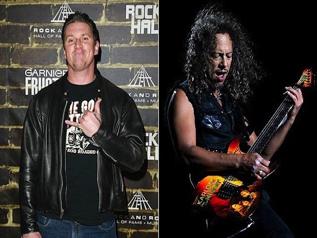 CJ Ramone_Kirk Hammett