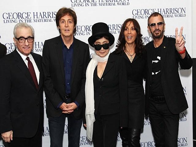 Martin Scorsese_Paul McCartney_Yoko Ono_Olivia Harrison_Ringo Starr