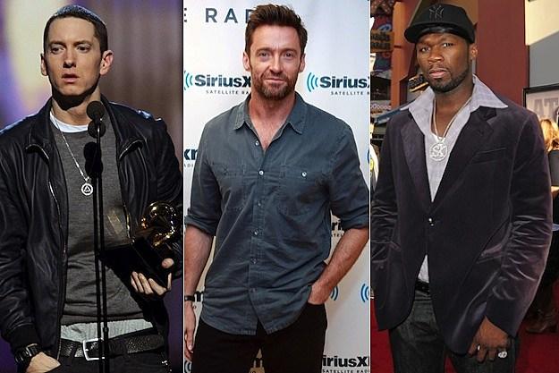 Eminem/Hugh Jackman/50 Cent