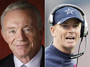 Jerry Jones, Jason Garrett