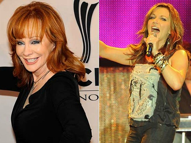 Reba McEntire and Martina McBride