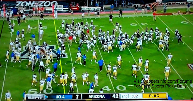 UCLA Arizona brawl