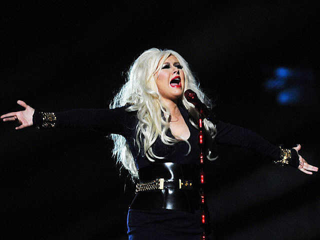 Christina Aguilera, Michael Jackson Tribute