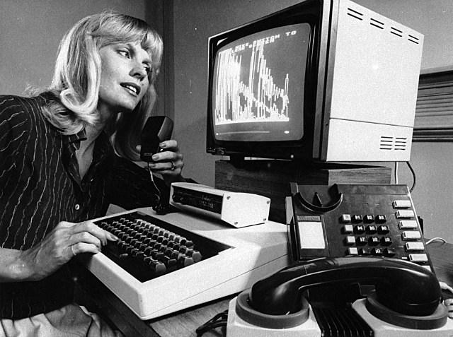 female computer voice