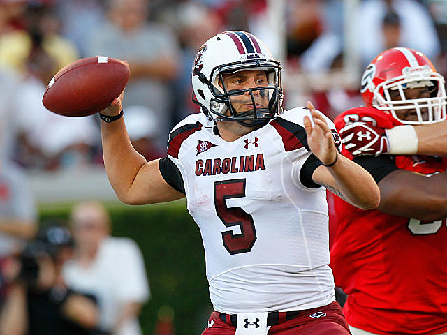 QB Stephen Garcia was dismissed from the South Carolina football team.