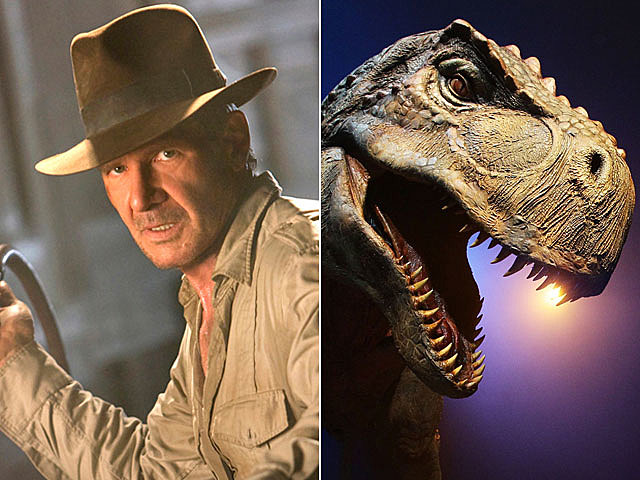 'Indiana Jones' and 'Jurassic Park'