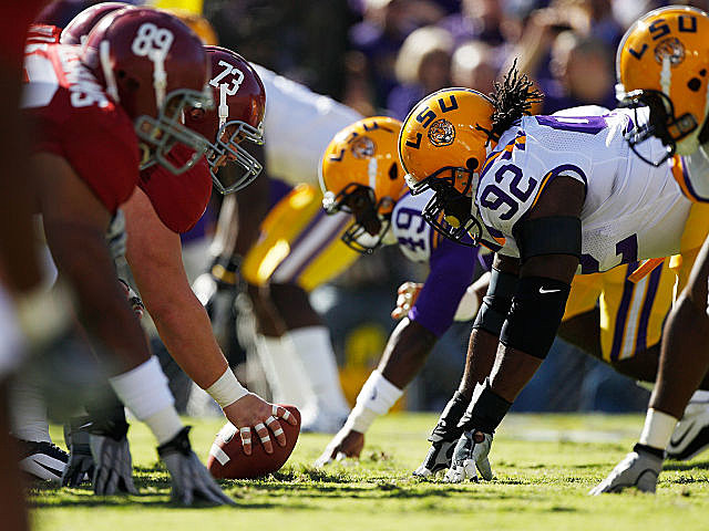LSU and Alabama face off this week with a a potential BCS title shot on the line.