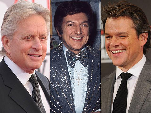 Michael Douglas, Liberace, Matt Damon