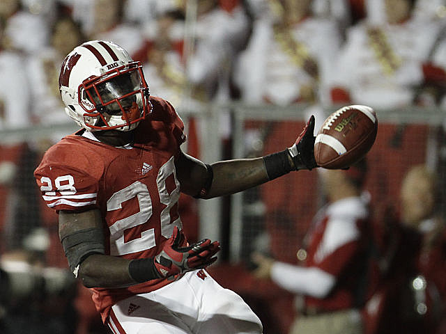 Montee Ball leads Wisconsin against a potent Michigan State defense.