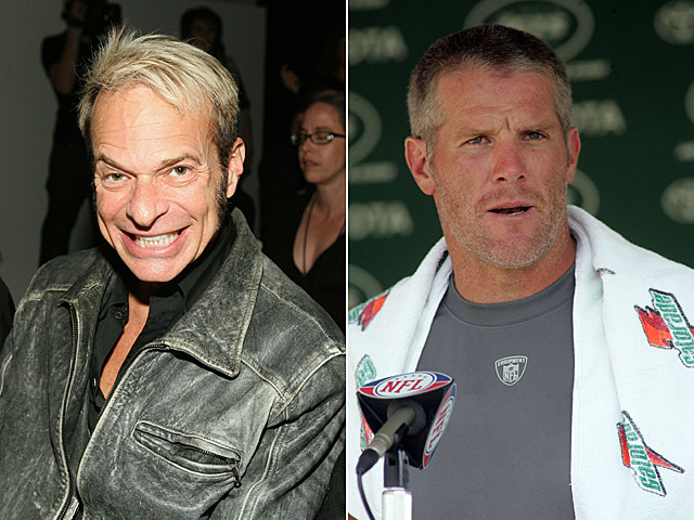 David Lee Roth, Brett Favre