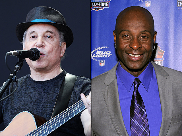 Paul Simon, Jerry Rice