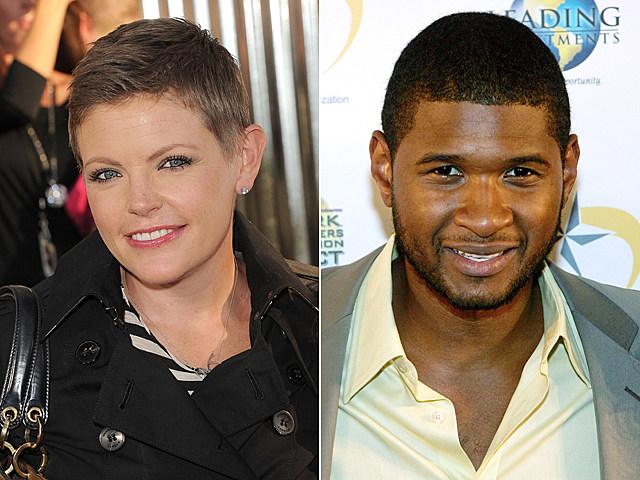 Natalie Maines, Usher