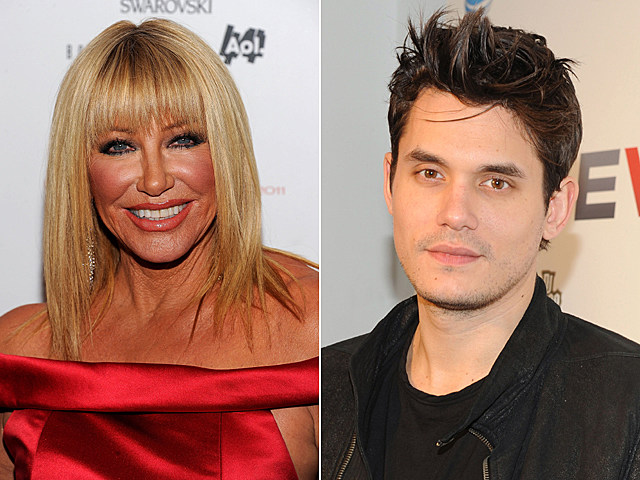 Suzanne Somers, John Mayer