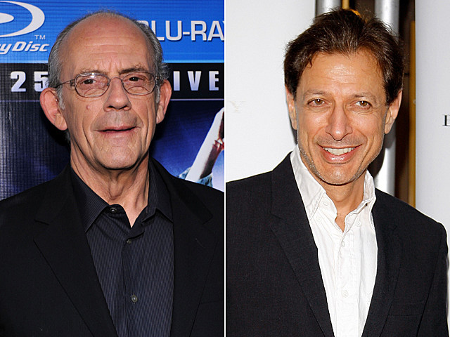 Christopher Lloyd, Jeff Goldblum