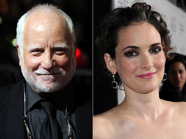 Richard Dreyfuss, Winona Ryder