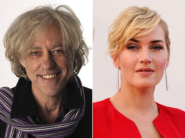 Bob Geldof, Kate Winslet