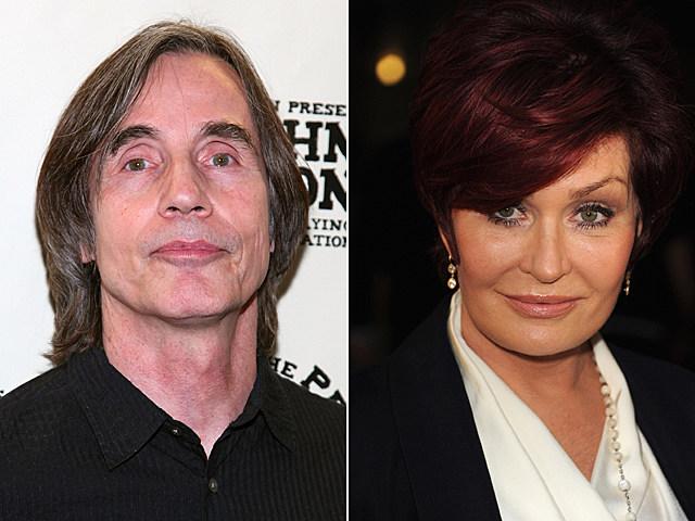 Jackson Browne, Sharon Osbourne