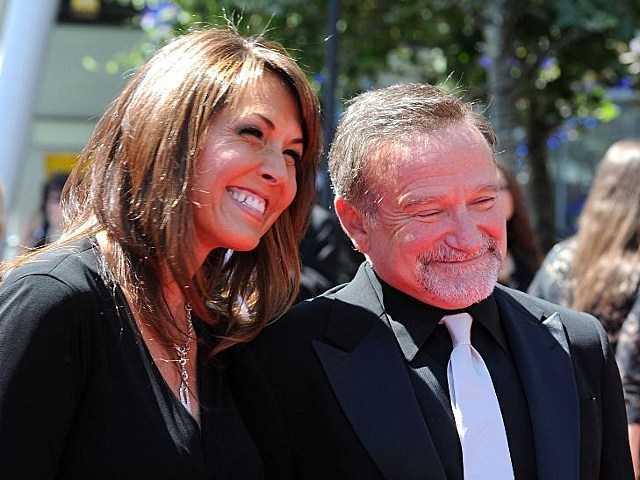 robin williams susan schneider