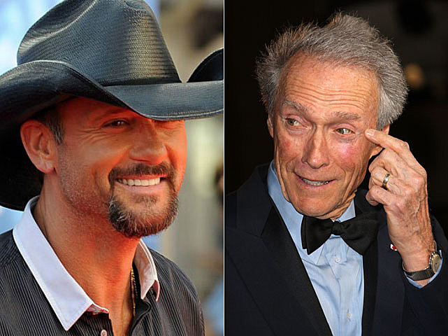 Tim McGraw, Clint Eastwood