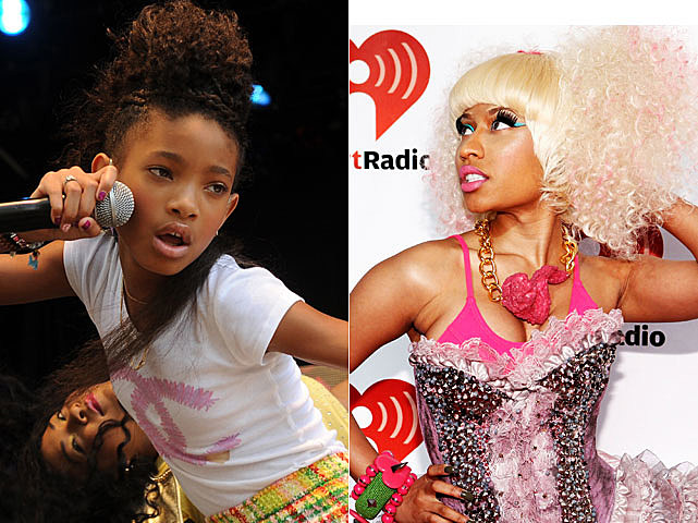 Willow Smith, Nicki Minaj
