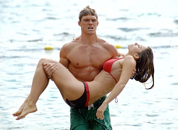 Alan Ritchson in 'Smallville'