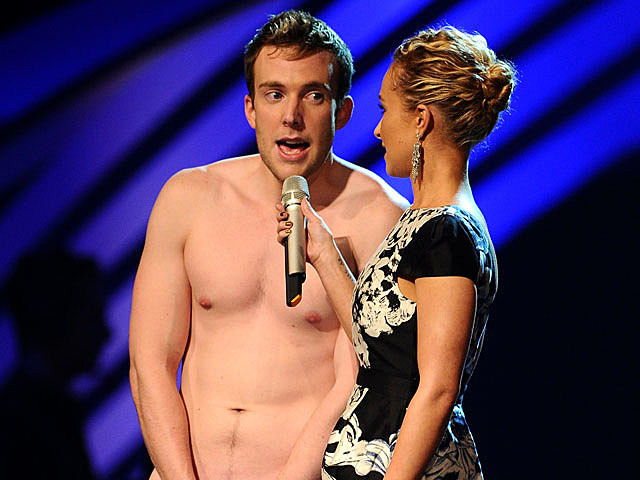 David Monahan, MTV Europe Music Awards streaker