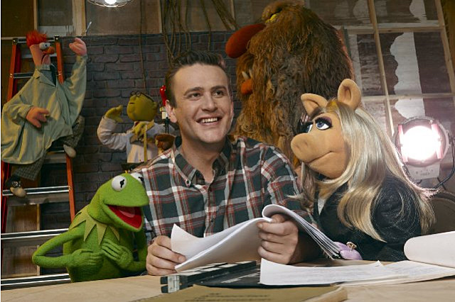 Jason Segel Kermit Miss Piggy