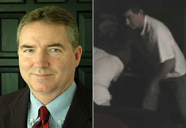 Judge William Adams beating daughter