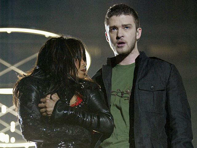 Janet Jackson Justin Timberlake Super Bowl Wardrobe Malfunction